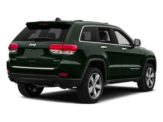 Black Forest Green Pearlcoat 2015 Jeep Grand Cherokee Pictures Grand Cherokee Utility 4D Limited 2WD photos rear view