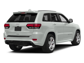 Bright White Clearcoat 2015 Jeep Grand Cherokee Pictures Grand Cherokee Utility 4D SRT-8 4WD photos rear view