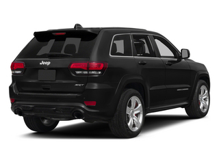 Brilliant Black Crystal Pearlcoat 2015 Jeep Grand Cherokee Pictures Grand Cherokee Utility 4D SRT-8 4WD photos rear view