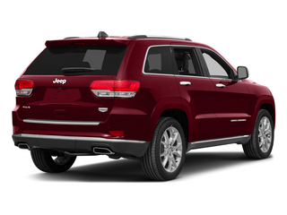 Deep Cherry Red Crystal Pearlcoat 2015 Jeep Grand Cherokee Pictures Grand Cherokee Utility 4D Summit 4WD photos rear view