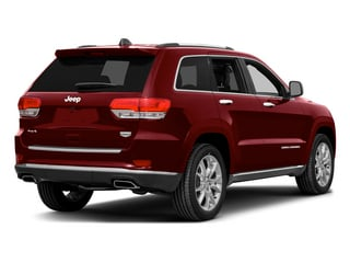 Deep Cherry Red Crystal Pearlcoat 2015 Jeep Grand Cherokee Pictures Grand Cherokee Utility 4D Summit Diesel 4WD photos rear view