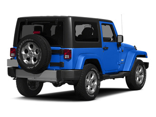 Hydro Blue Pearl Coat 2015 Jeep Wrangler Pictures Wrangler Utility 2D Sahara 4WD V6 photos rear view