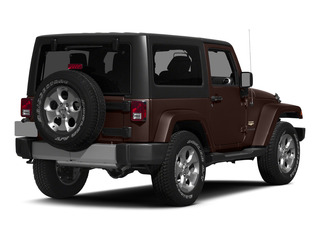 Copper Brown Pearlcoat 2015 Jeep Wrangler Pictures Wrangler Utility 2D Sahara 4WD V6 photos rear view