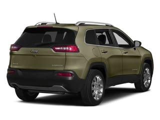 Eco Green Pearlcoat 2015 Jeep Cherokee Pictures Cherokee Utility 4D Latitude 4WD photos rear view