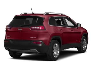 Deep Cherry Red Crystal Pearlcoat 2015 Jeep Cherokee Pictures Cherokee Utility 4D Latitude 4WD photos rear view