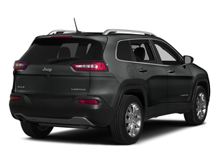 Brilliant Black Crystal Pearlcoat 2015 Jeep Cherokee Pictures Cherokee Utility 4D Latitude 4WD photos rear view
