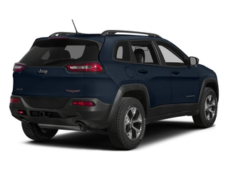 True Blue Pearlcoat 2015 Jeep Cherokee Pictures Cherokee Utility 4D Trailhawk 4WD photos rear view
