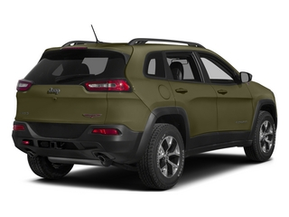 Eco Green Pearlcoat 2015 Jeep Cherokee Pictures Cherokee Utility 4D Trailhawk 4WD photos rear view