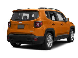 Omaha Orange 2015 Jeep Renegade Pictures Renegade Utility 4D Sport 2WD I4 photos rear view