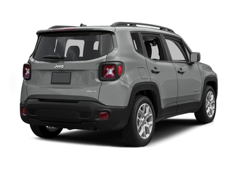Glacier Metallic 2015 Jeep Renegade Pictures Renegade Utility 4D Limited AWD I4 photos rear view