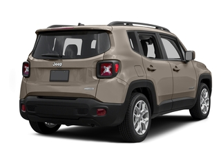 Mojave Sand 2015 Jeep Renegade Pictures Renegade Utility 4D Limited AWD I4 photos rear view