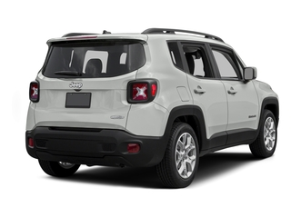 Alpine White 2015 Jeep Renegade Pictures Renegade Utility 4D Limited AWD I4 photos rear view