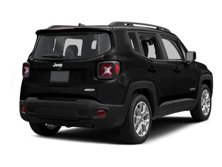 Black 2015 Jeep Renegade Pictures Renegade Utility 4D Limited AWD I4 photos rear view