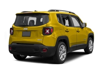 Solar Yellow 2015 Jeep Renegade Pictures Renegade Utility 4D Sport 2WD I4 photos rear view