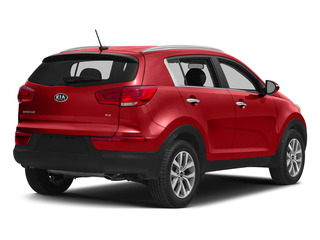 Signal Red 2015 Kia Sportage Pictures Sportage Utility 4D LX 2WD I4 photos rear view