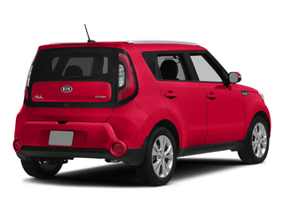 Inferno Red 2015 Kia Soul Pictures Soul Wagon 4D + I4 photos rear view