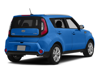 Carribean Blue 2015 Kia Soul Pictures Soul Wagon 4D + I4 photos rear view