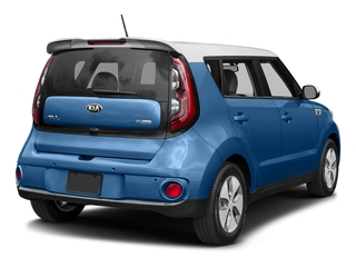 Carribean Blue w/Clear White Roof 2015 Kia Soul EV Pictures Soul EV Wagon 4D EV Electric photos rear view
