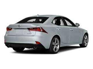 Silver Lining Metallic 2015 Lexus IS 350 Pictures IS 350 Sedan 4D IS350 V6 photos rear view