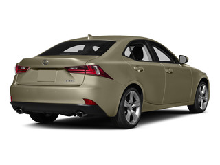 Atomic Silver 2015 Lexus IS 350 Pictures IS 350 Sedan 4D IS350 V6 photos rear view