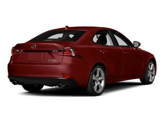 Matador Red Mica 2015 Lexus IS 350 Pictures IS 350 Sedan 4D IS350 V6 photos rear view