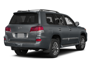 Nebula Gray Pearl 2015 Lexus LX 570 Pictures LX 570 Utility 4D 4WD V8 photos rear view