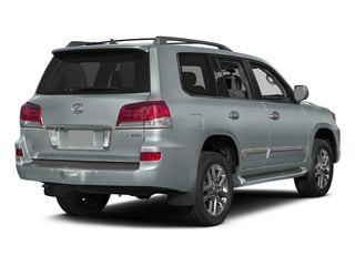 Silver Lining Metallic 2015 Lexus LX 570 Pictures LX 570 Utility 4D 4WD V8 photos rear view
