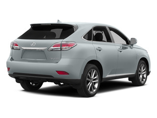 Silver Lining Metallic 2015 Lexus RX 350 Pictures RX 350 Utility 4D AWD V6 photos rear view