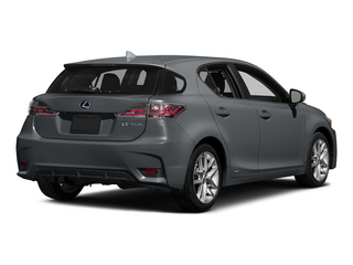 Nebula Gray Pearl 2015 Lexus CT 200h Pictures CT 200h Hatchback 5D CT200h I4 Hybrid photos rear view