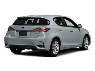 Silver Lining Metallic 2015 Lexus CT 200h Pictures CT 200h Hatchback 5D CT200h I4 Hybrid photos rear view