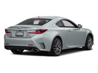 Silver Lining Metallic 2015 Lexus RC 350 Pictures RC 350 Coupe 2D RC350 V6 photos rear view