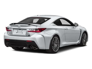 Ultra White 2015 Lexus RC F Pictures RC F Coupe 2D RC-F V8 photos rear view