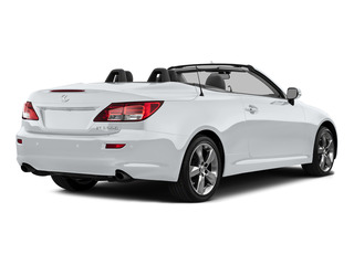 Ultra White 2015 Lexus IS 350C Pictures IS 350C Convertible 2D IS350 V6 photos rear view