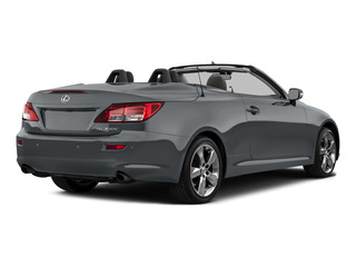 Nebula Gray Pearl 2015 Lexus IS 350C Pictures IS 350C Convertible 2D IS350 V6 photos rear view