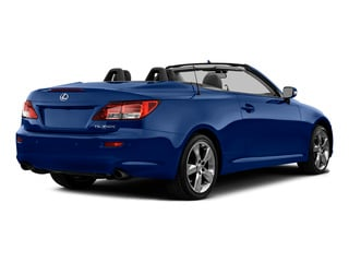 Ultrasonic Blue 2015 Lexus IS 350C Pictures IS 350C Convertible 2D IS350 V6 photos rear view