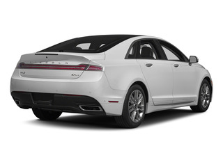 Confidential White 2015 Lincoln MKZ Pictures MKZ Sedan 4D Black Label AWD V6 photos rear view