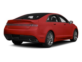 Ruby Red Metallic Tinted Clearcoat 2015 Lincoln MKZ Pictures MKZ Sedan 4D V6 photos rear view