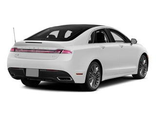 White Platinum Metallic Tri-Coat 2015 Lincoln MKZ Pictures MKZ Sedan 4D I4 Hybrid photos rear view
