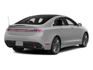 Ingot Silver Metallic 2015 Lincoln MKZ Pictures MKZ Sedan 4D I4 Hybrid photos rear view