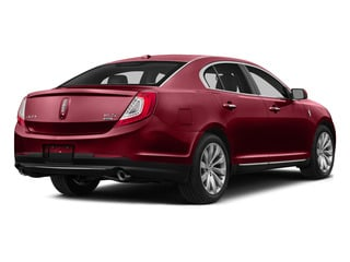 Ruby Red Metallic Tinted Clearcoat 2015 Lincoln MKS Pictures MKS Sedan 4D V6 photos rear view