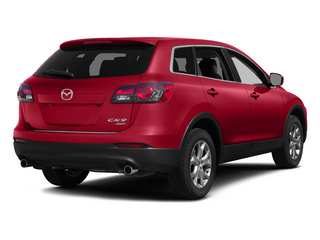 Zeal Red Mica 2015 Mazda CX-9 Pictures CX-9 Utility 4D Touring AWD V6 photos rear view