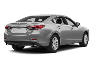 Liquid Silver Metallic 2015 Mazda Mazda6 Pictures Mazda6 Sedan 4D i Touring I4 photos rear view