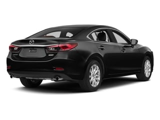 Jet Black Mica 2015 Mazda Mazda6 Pictures Mazda6 Sedan 4D i Touring I4 photos rear view