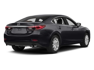 Meteor Gray Mica 2015 Mazda Mazda6 Pictures Mazda6 Sedan 4D i Touring I4 photos rear view