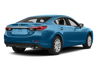 Blue Reflex Mica 2015 Mazda Mazda6 Pictures Mazda6 Sedan 4D i Touring I4 photos rear view