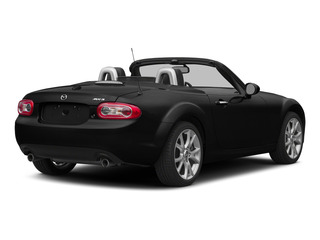 Brilliant Black Clearcoat 2015 Mazda MX-5 Miata Pictures MX-5 Miata Hardtop 2D Club I4 photos rear view