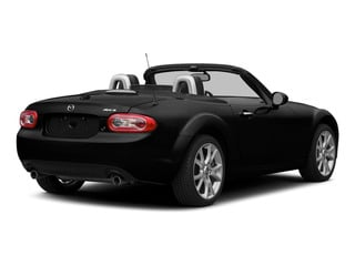 Brilliant Black Clearcoat 2015 Mazda MX-5 Miata Pictures MX-5 Miata Convertible 2D Club I4 photos rear view