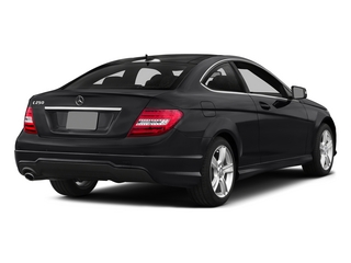 Black 2015 Mercedes-Benz C-Class Pictures C-Class Coupe 2D C250 I4 Turbo photos rear view