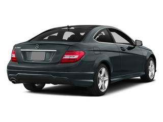 Steel Gray Metallic 2015 Mercedes-Benz C-Class Pictures C-Class Coupe 2D C250 I4 Turbo photos rear view