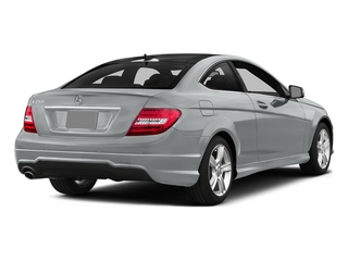Iridium Silver Metallic 2015 Mercedes-Benz C-Class Pictures C-Class Coupe 2D C250 I4 Turbo photos rear view